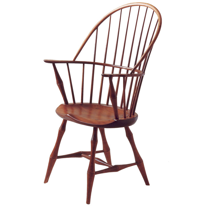 Antique oak rocking chair rocking chairs - D R Dimes Bowback Arm Chair Bamboo Windsor Chairs