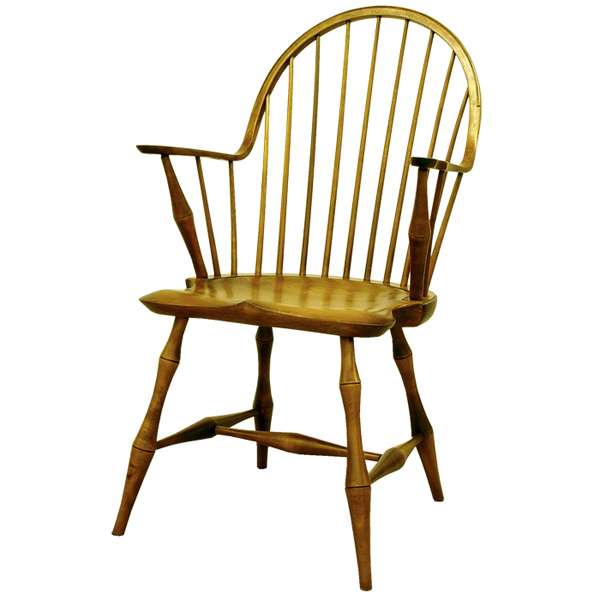 Merveilleux 18th Century Antique Reproduction Windsor Chairs Continuous Arm Chairs  Continuous Arm Chair Bamboo
