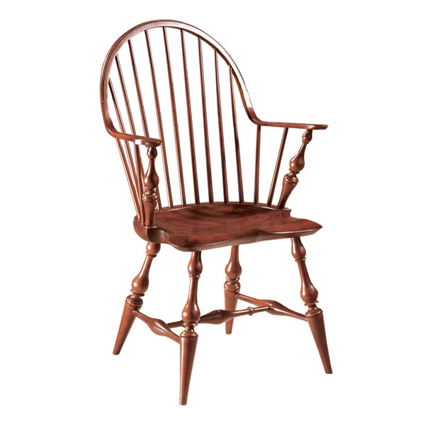 Good 18th Century Antique Reproduction Windsor Chairs Continuous Arm Chairs  Continuous Arm Chair