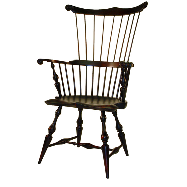 18th century antique reproduction Windsor Chairs Fanbacks and Comb-Backs  New England Comb-Back - D.R.DIMES New England Comb-Back Windsor Chair - Windsor Chairs