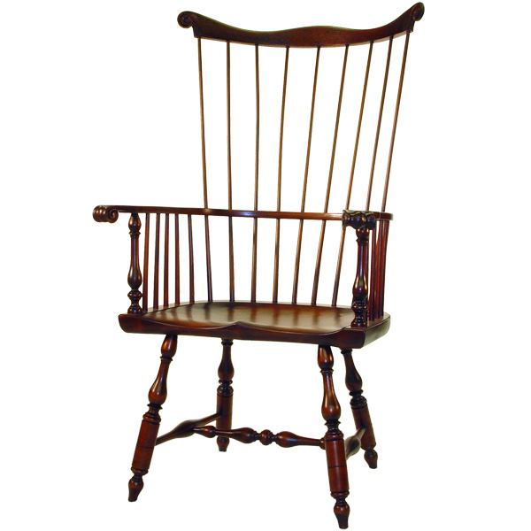 d r dimes philadelphia comb back windsor chair windsor