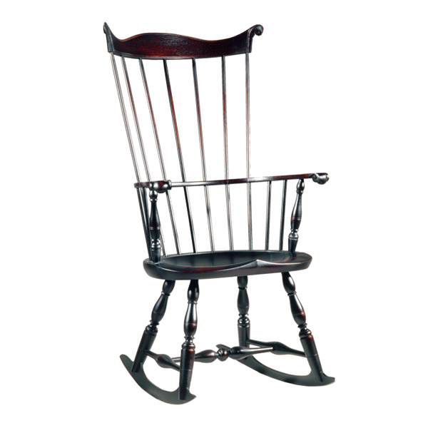 18th century antique reproduction Windsor Chairs Rocking Chairs Lancaster  County Windsor Rocker - D.R.DIMES Lancaster County Windsor Rocker - Windsor Chairs: Rocking
