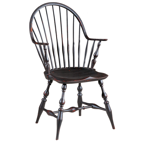 18th Century Antique Reion Windsor Chairs Continuous Arm Ri Pennfield Ca
