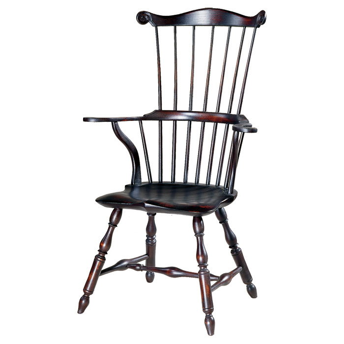 18th Century Antique Reproduction Windsor Chairs Fanbacks And Comb Backs  Serpentine Arm Comb Back