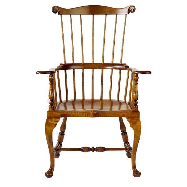D R Dimes Limited Edition Qa Comb Back Windsor Chair