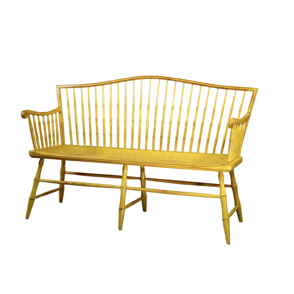 D R Dimes Camel Back Windsor Bench Windsor Chairs Benches Settees