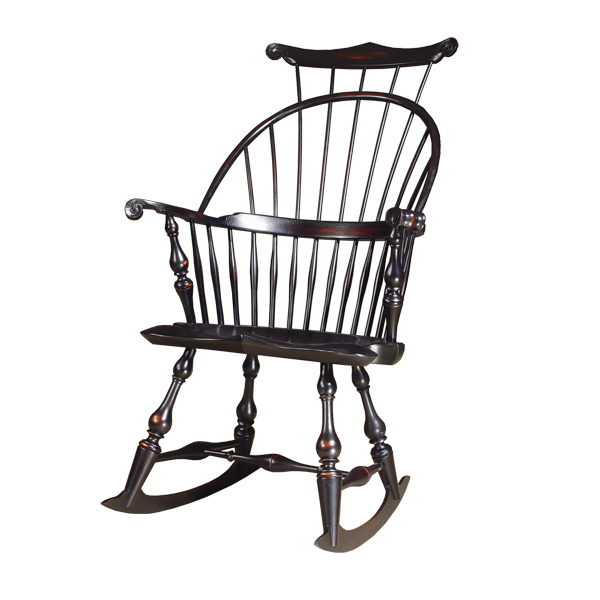 18th century antique reproduction Windsor Chairs Rocking Chairs Master's Rocking  Chair - D.R.DIMES Master's Rocking Chair - Windsor Chairs: Rocking Chairs