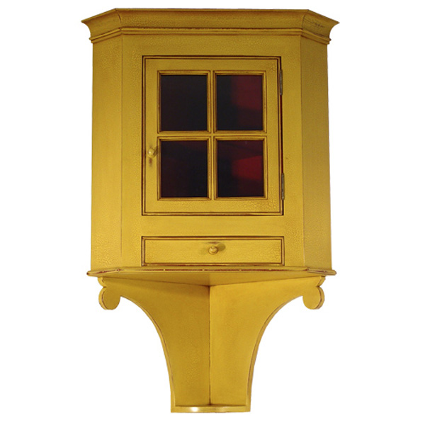 18th century antique reproduction Corner Cupboards Hanging Corner Cupboard - D.R.DIMES Hanging Corner Cupboard - : Cupboards Corner Cupboards