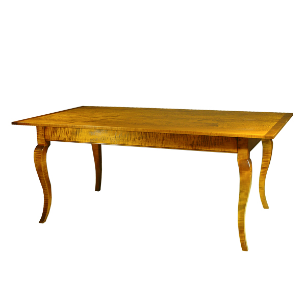 D R Dimes Farmhouse Table W French Cabriole Leg Dining Tables