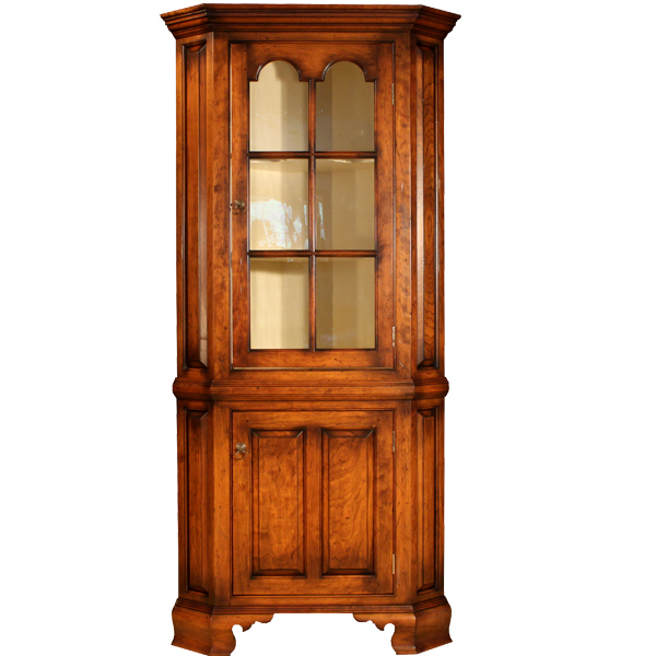 18th century antique reproduction Corner Cupboards Six Light Corner Cupboard - D.R.DIMES Six Light Corner Cupboard - : Cupboards Corner Cupboards