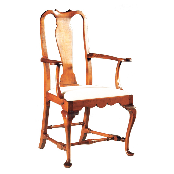 Formal Dining Chairs Of D R Dimes Queen Anne Arm Chair Formal Dining Chairs