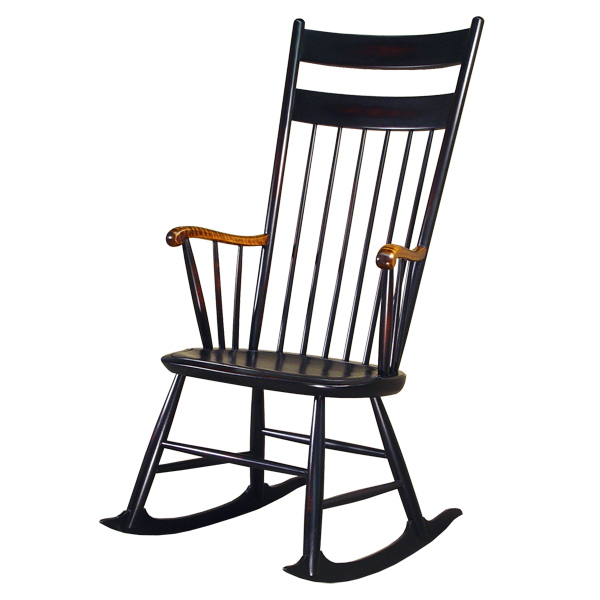 18th century antique reproduction Windsor Chairs Rocking Chairs Baker's  1808 Rocker - D.R.DIMES Baker's 1808 Rocker - Windsor Chairs: Rocking Chairs