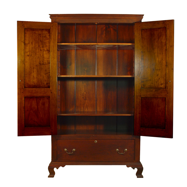 D r dimes custom linen press cupboards storage cupboard for Linen press