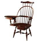 Three Back Writing Arm Chair