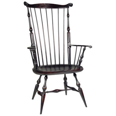 D R Dimes Mass Fanback Arm Windsor Chair Windsor Chairs