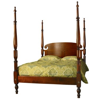 18th century antique reproduction beds sheraton tall post bed