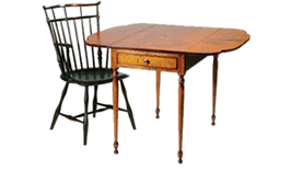 drdimes colonial american furniture
