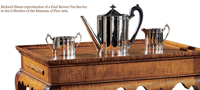 Awesome Paul Revere Reproduction Tea Service